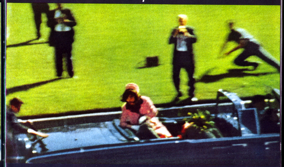 JFK assassination film hoax - The blood mistake
